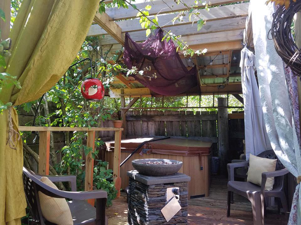 Oasis Hot Tub Retreat Oak Haven Lodge